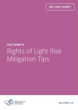 Rights of Light Risk Mitigation Tips