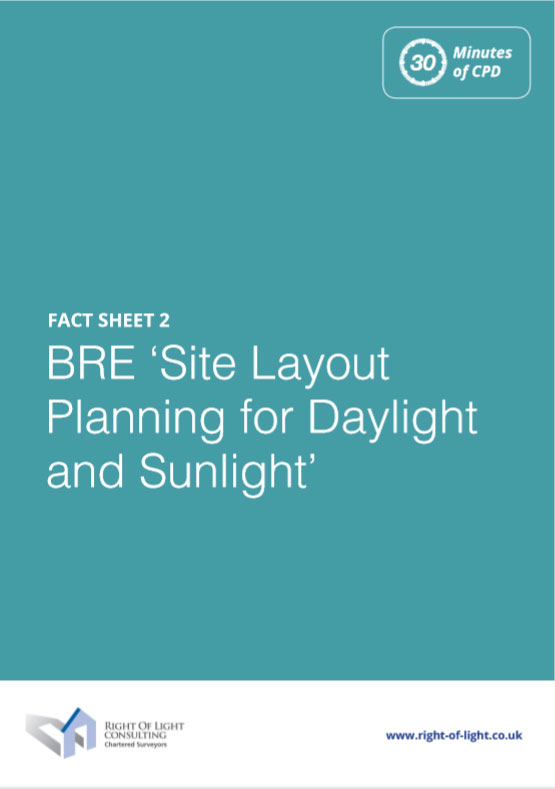 BRE 'Site Layout Planning for Daylight and Sunlight'
