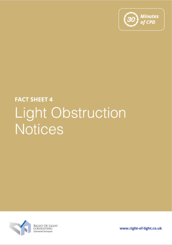 Light Obstruction Notices