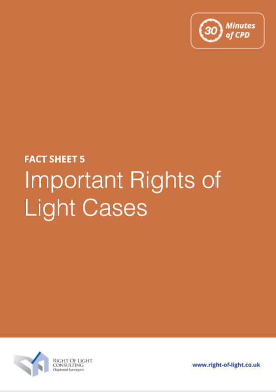 Important Rights of Light Cases