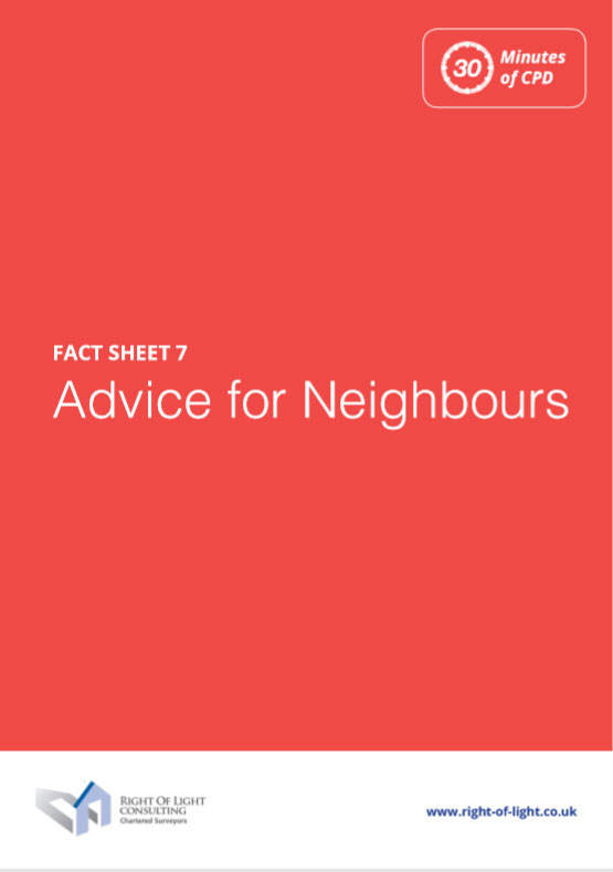 Advice for Neighbour